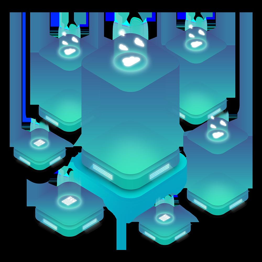 Illustration of Cloud Server