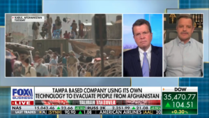Project Afghan Relief Fund Interview with Fox Neil Cavuto