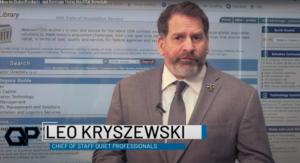 Leo Kryszewski COO GSA Point of Contact